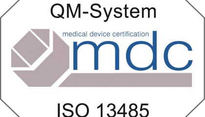MDC Plakette ISO 13485