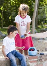 RehaMedia - Jelly Beamer mit Seifenblasenmaschine